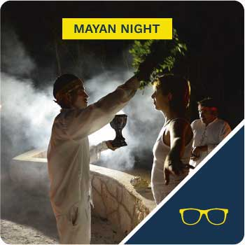 mayan night tour